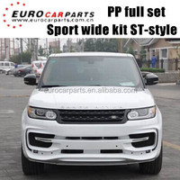 Sport Startech wide style sport body kit for RR Sport 2014 style to ST body kits PP material