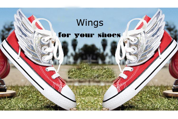 Best sale shoe wing shoes accessories shoe clips decoration for woman