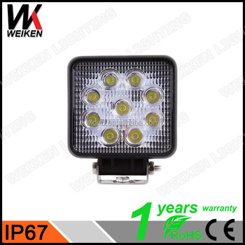 Weiken 27w led work lightcrees commercial electric work light for weiken 27w led work light crees commercial electric work light for automotive cars truck offroad aloadofball Images