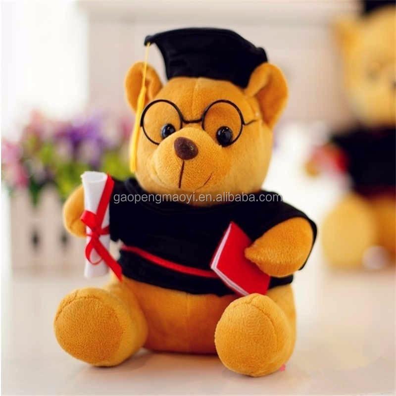 136d3e086a8 Customized Uniform Graduation Teddy Bear With Glasses - Buy ...