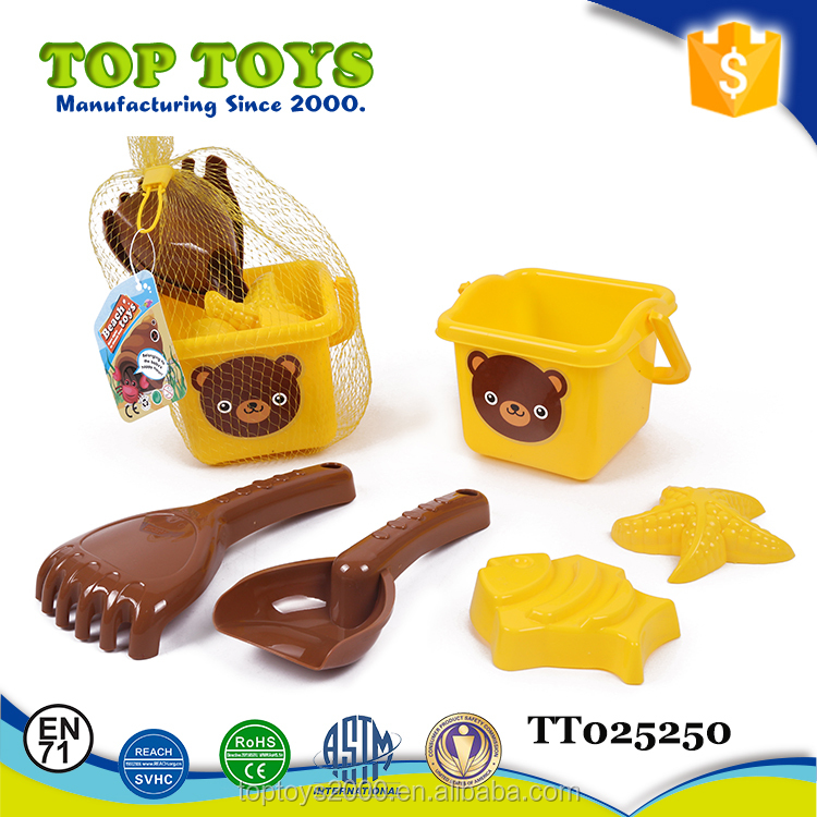 Educational Outdoor Toys Plastic Sand Beach Toys Set Wholesale