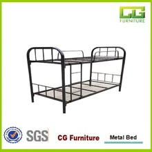 2016 Dubai Adult Heavy Duty Wrought Iron Steel Metal Bunk Bed