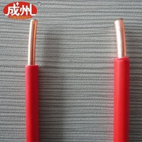 Red sheath 1awg 2awg 4awg 6awg XLPE insulated wiring electrical wiring