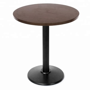 Good Quality Modern Black Wooden Dining Coffee Table