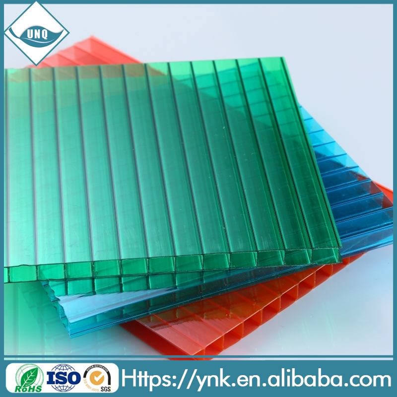 agricultural greenhouse materials hollow polycarbonate sheet