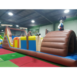 inflatable outdoor kids funny obstacle course / giant inflatable playground