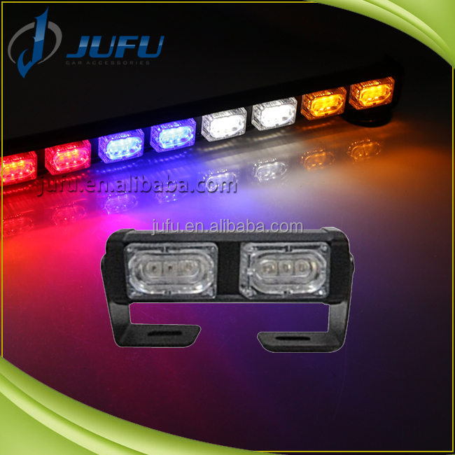 Waterproof flashing emergency warning signal advisor light motorcycle led strobe light