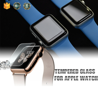 New Arrival wholesale price 9H 2.5D smart watch use full size PET/TPU/Tempered glass screen protector for Apple Watch OEM