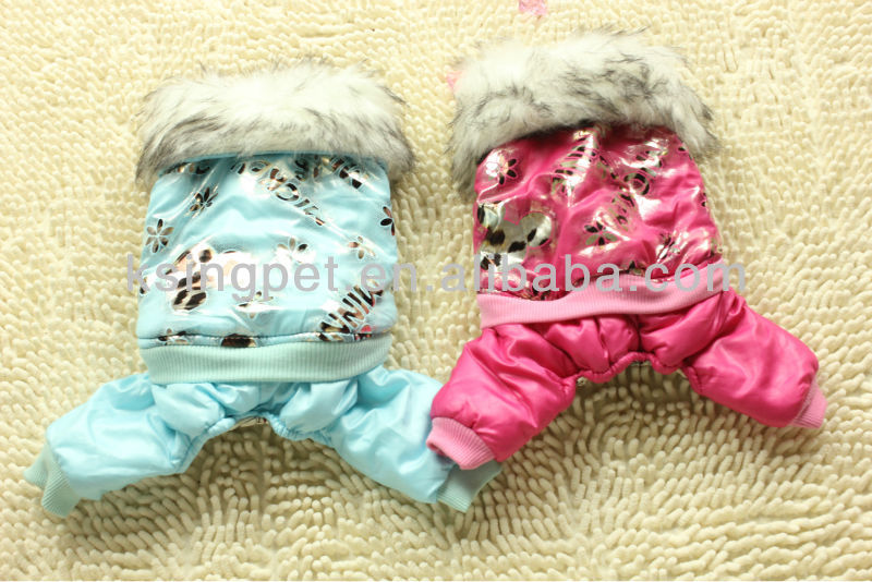 Winter Fur Collar Cartoon Characters Duvest Outfit, Coat, Outwears For Dogs, Doggie