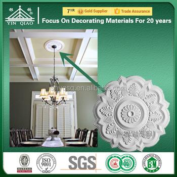 Fleur Motif Design Décoratif Plafond En Plâtre Centres Panneaux ...