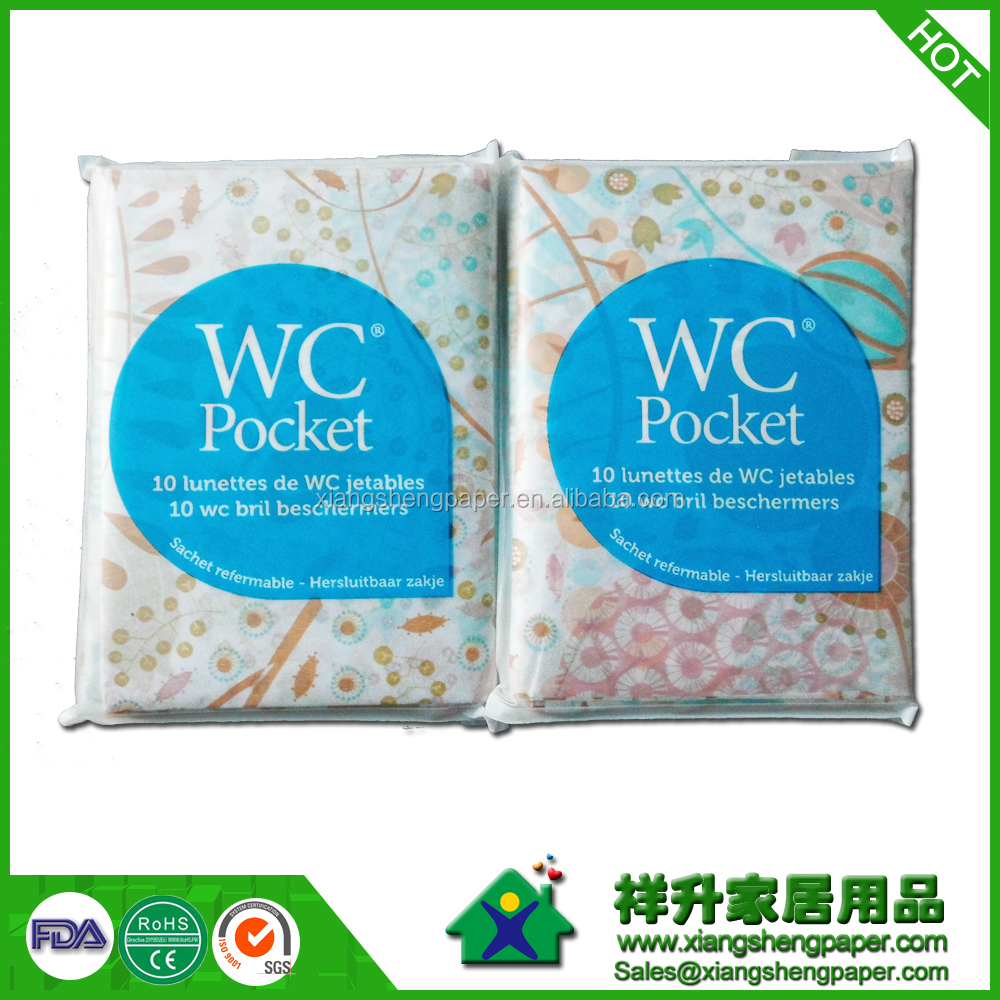 Flushable Disposable Multifold Toilet Seat Cover Paper. Toilet Seat Paper Cover For Travelling