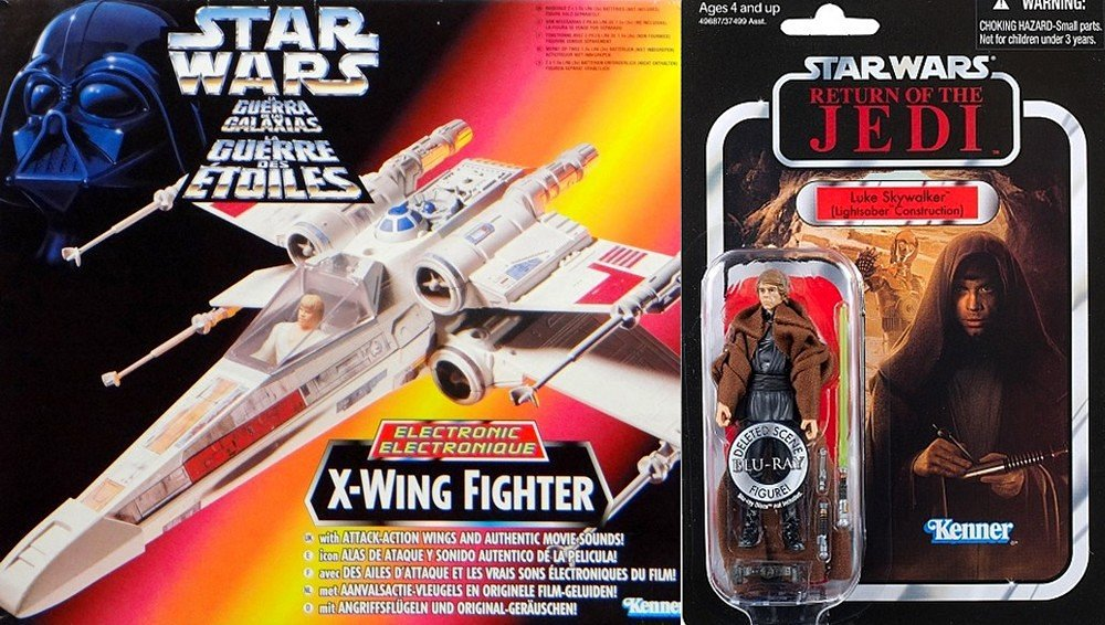 Star Wars - Power Of The Force - Electronic F/X - X-Wing Fighter