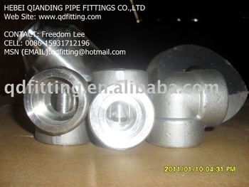 Forged Steel A694 F42/F46/F52/F60/F65/F70/F80 SW Elbow