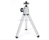 new version Mini Tripod Aluminum Metal Lightweight Tripod Stand Mount For Digital Camera webcam stand