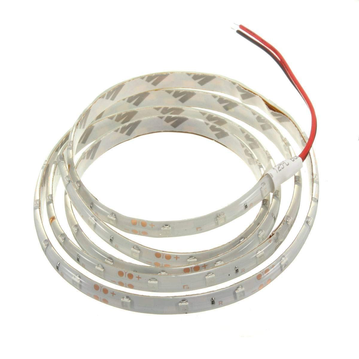 SODIAL(R) 1M 60-3528 SMD Waterproof LED Light Strip DC12V (Red)