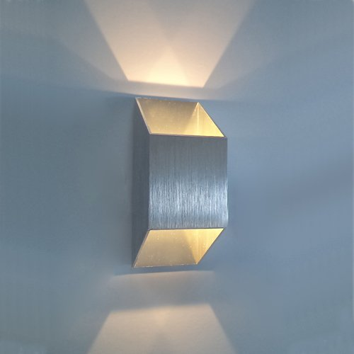 Home Theater Lighting Fixtures: 2W LED Wall Sconce Light Fixture Up Down Lamp Lighting For