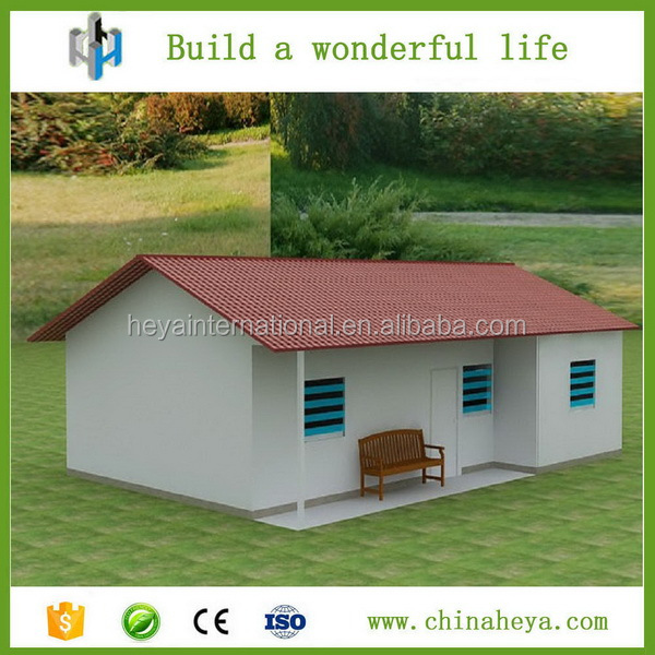 Casas prefabricadas baratas acero ligero panel sandwish - Casa prefabricada acero ...