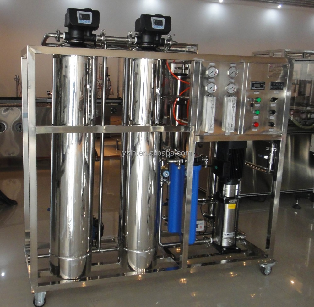 Professional Drinking Water Treatment Plant / Machine For Bottled water