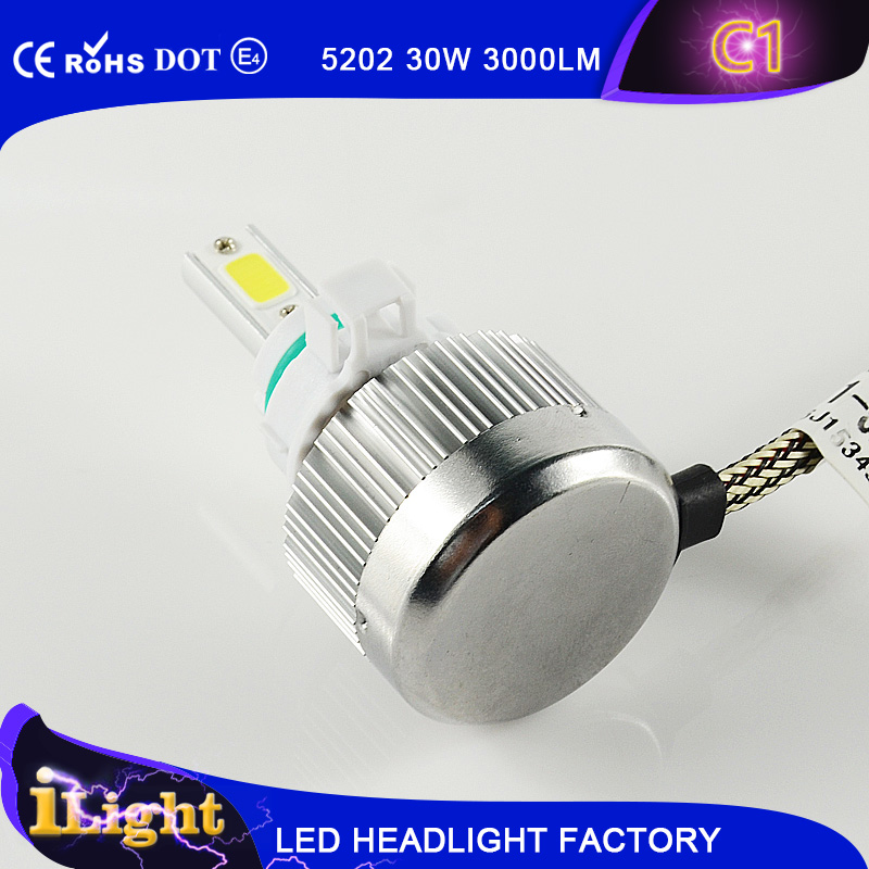 emark ce rohs dot h4 best led headlight with lumileds z es chip