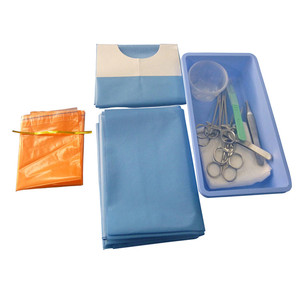 Disposable names of surgical instrument Surgical Procedure Kit