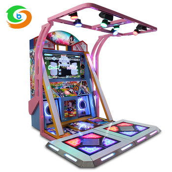 Amusement Park 3d Surround Sound Amazing Video Dancing Game Machine - Buy  Dancing Game Machine,Amusement Park Machine,Video Dancing Machine Product  on