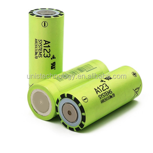 In stock !!A123 anr26650m1b lifepo4 battery cell 2500mAh 3.2V 26650 lifepo4 electric car battery
