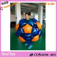 hot sale inflatable bubble ball,human body bumper ball