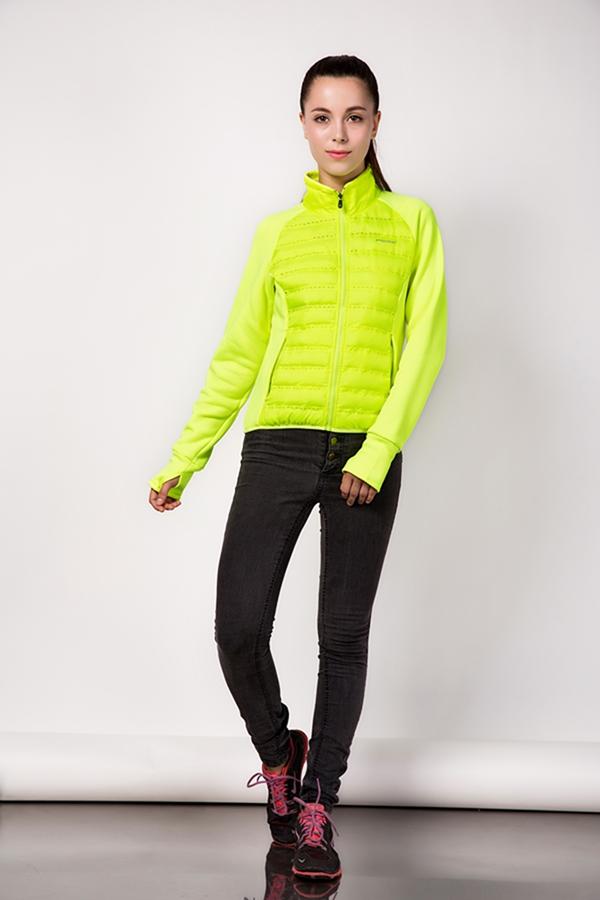 ladies moda acolchada chaquetas mujer diamond light chaqueta de relleno