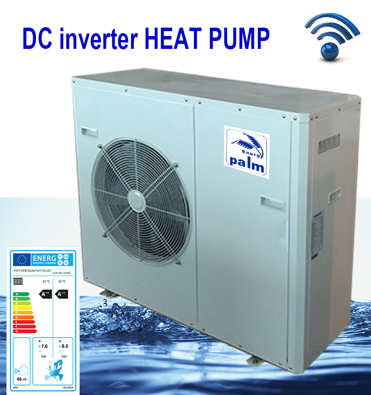 mini pompa di calore chiller 17kw tutto in uno