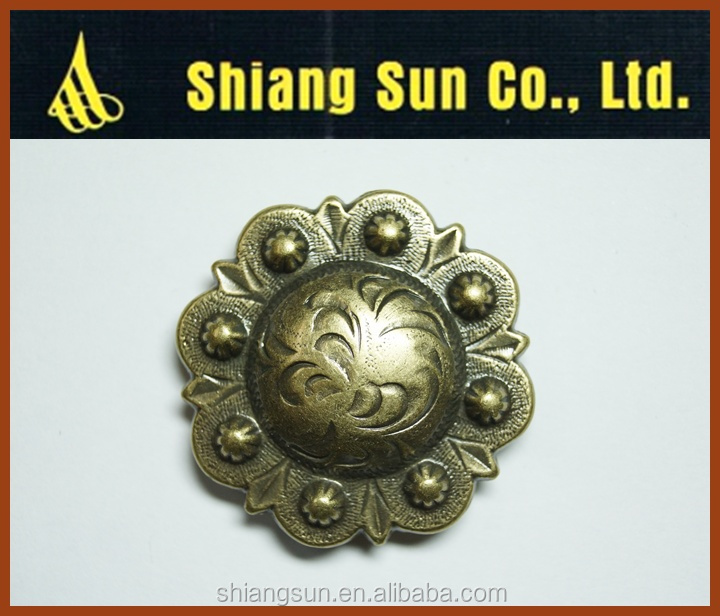 Factory direct high quality concho silver