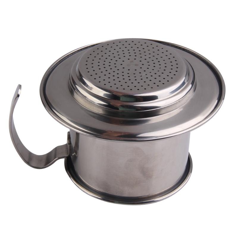 Portable Stainless Steel Vietnam Coffee Drip Filter Coffee Maker Infuser Cafe Filter Coffee ...