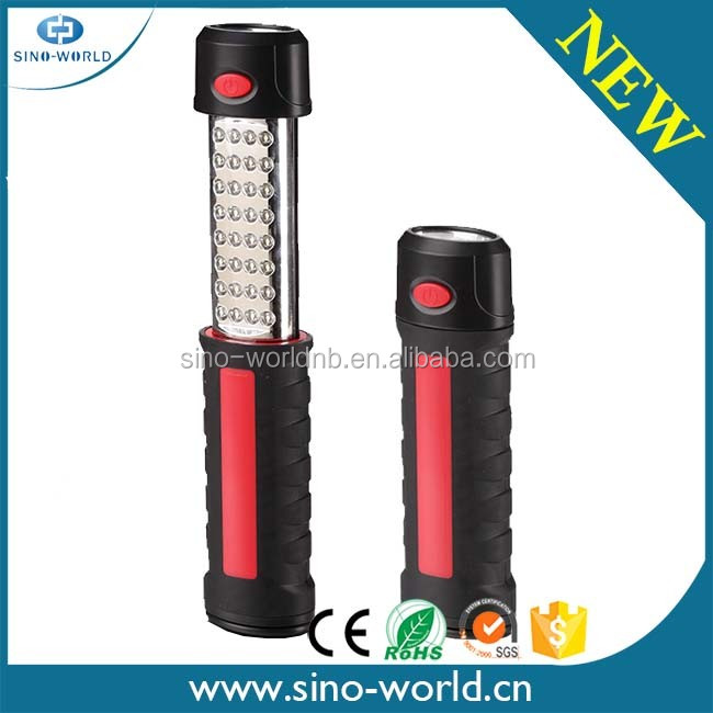 2016 New Hot Selling Extendable 7 led + 12 led work light with hook