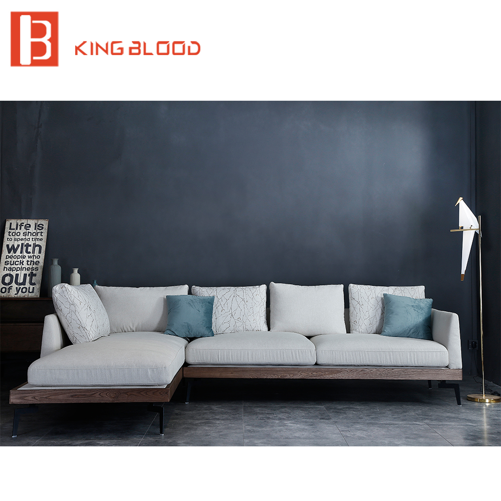 Cool Modern Living Room Fabric Upholstery Sofa Set Designs L Shape Wooden Leg Fabric Sofa Buy Fabric Wooden Sofa Fabric Living Room Furniture Sofa Home Interior And Landscaping Ologienasavecom