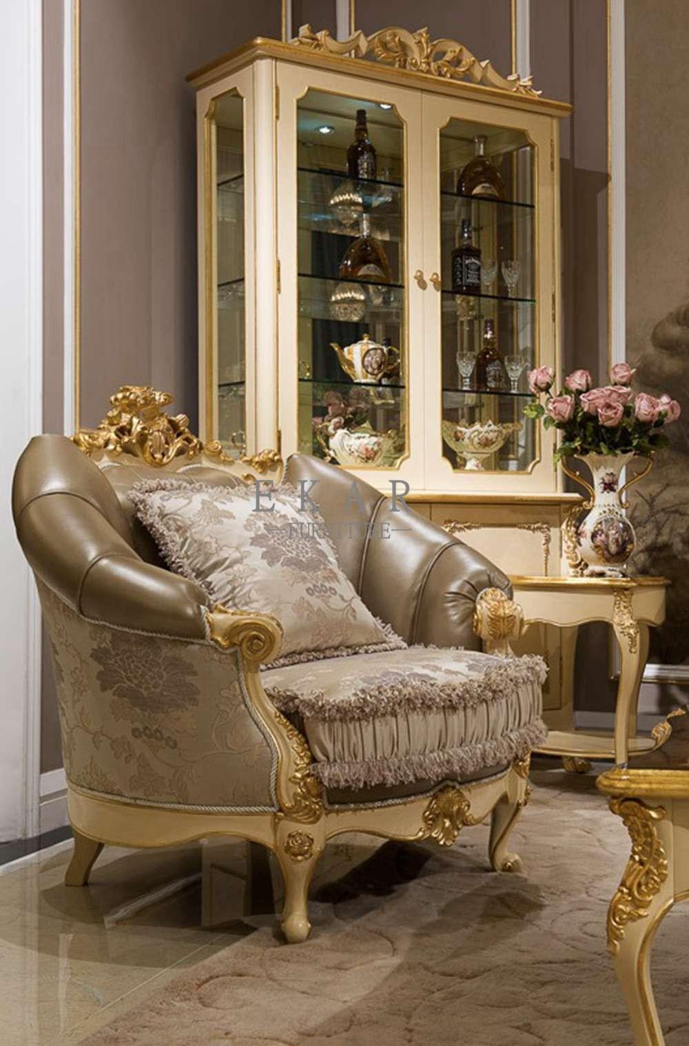 Wooden Furniture Living Room Designs: Ekar Furniture Design 7 Seater Heated Sofa Wood Living