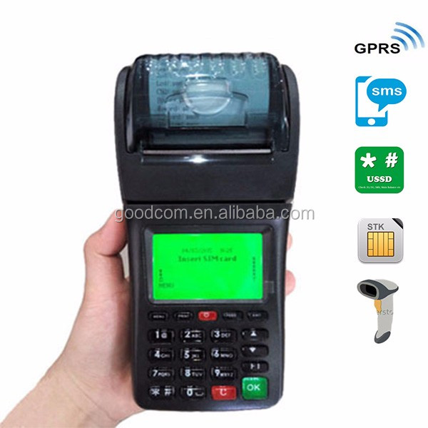Mobile receipt Small Ticket Parking Machine / Electronic Ticket Printer