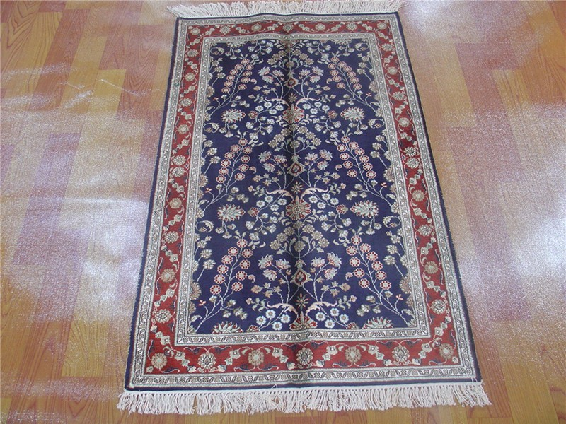 Tapis Moquette الصلاة اليدوية السجاد الحرير الإيراني النمط الحديث