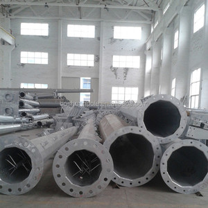 China Manufacturer Steel Tubular Power Pole
