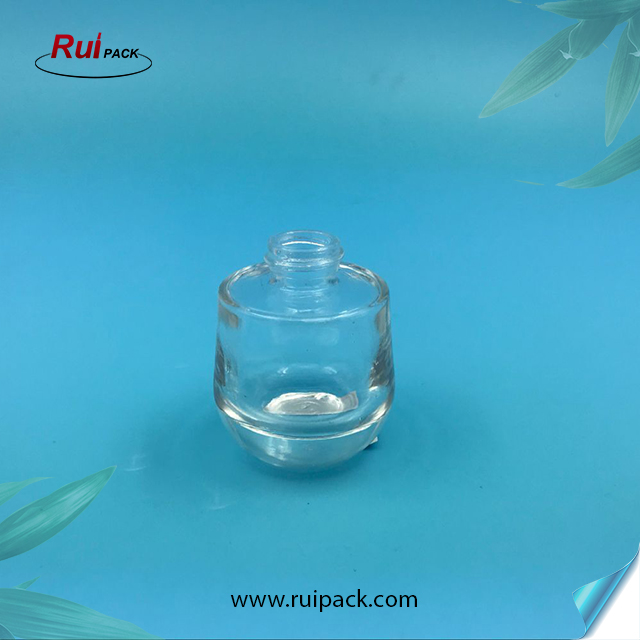 30ml Manufacture Clear Round Glass Perfume Bottle with Mist Sprayer