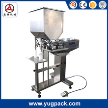 YGF-GL-2 New desigh 2 heads semi-auto fruit filling machine