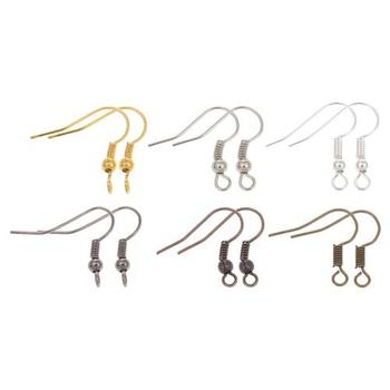 More Color for choice earwire Wholesale Iron Hook Earwire for women loop nickel 309807