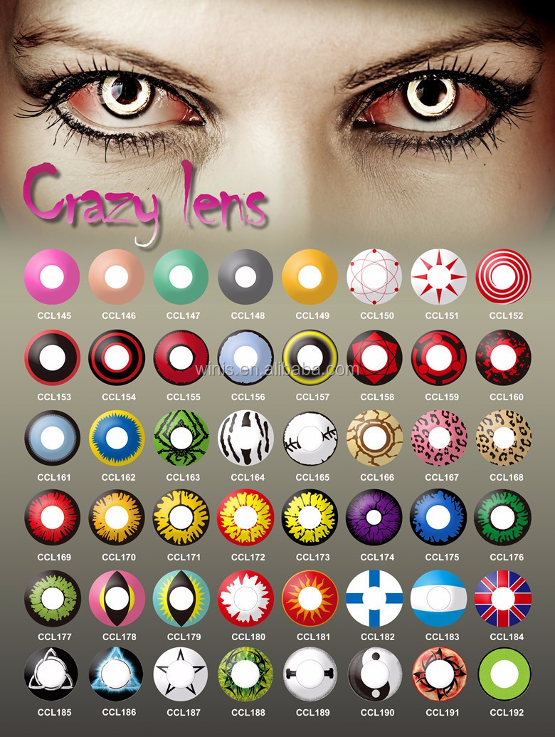 wholesale halloween contacts 192 designs yearly korea freshtone ...