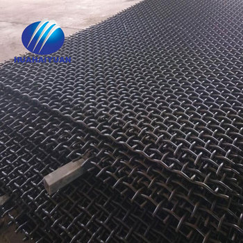 carbon steel quarry screen mesh stone sand mining vibrating screen crusher mesh