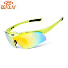 9193d22e01 OBAOLAY Bicycle Sunglasses Cycling Polarized Glasses Sport Bike Eyewear  Gafas Occhiali Ciclismo Flip Lens myopia Frame Glasses