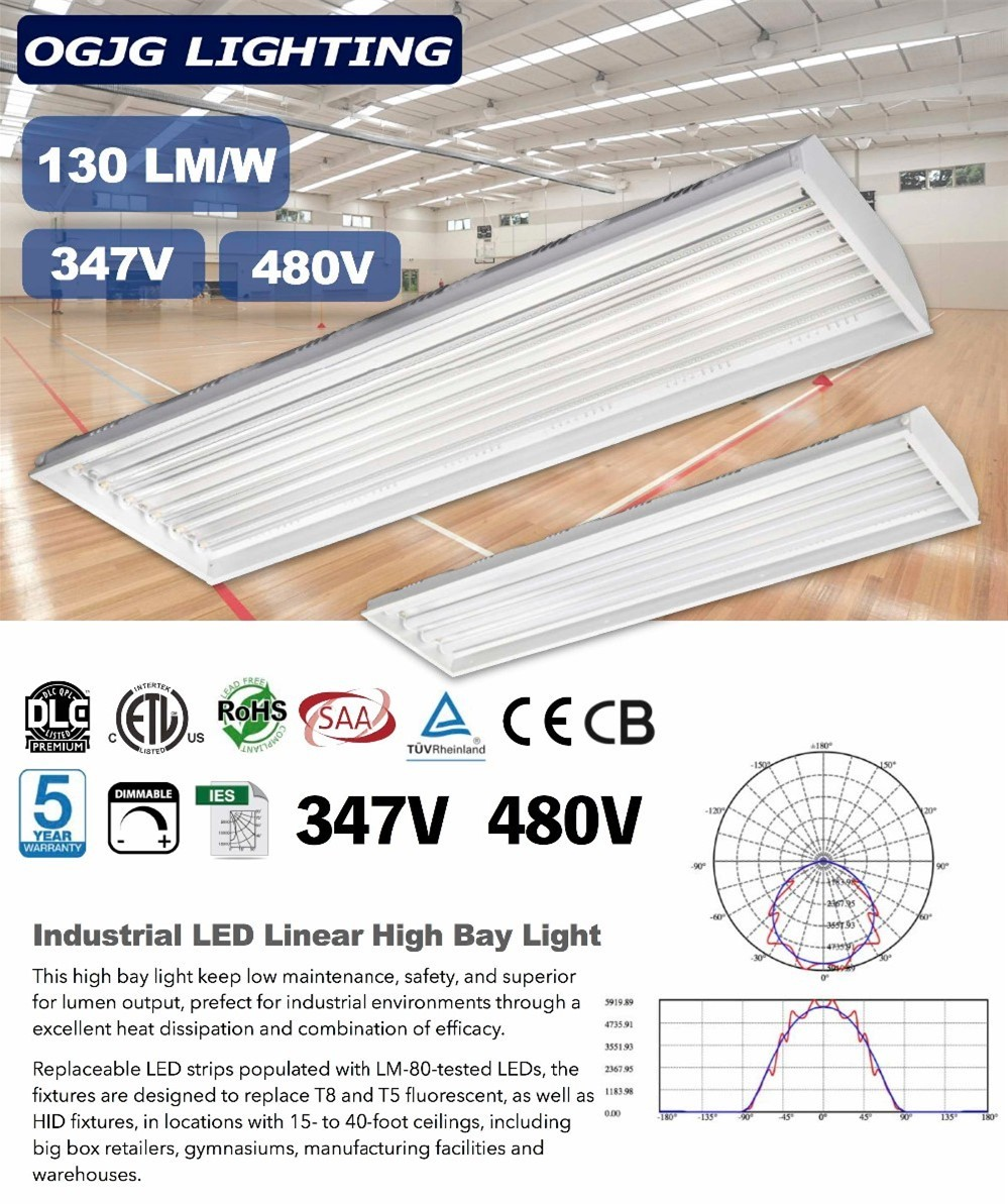 Indoor suspension lights etl dlc industrial led light fixtures heat indoor suspension lights etl dlc industrial led light fixtures heat resistant led strip low bay linear arubaitofo Image collections
