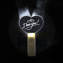 Glow Acryl Stick OEM Ontwerp Led Licht Gejuich Acryl Stick Led Knippert <span class=keywords><strong>Glowsticks</strong></span> Voor <span class=keywords><strong>Kerst</strong></span> & party Fabrikant