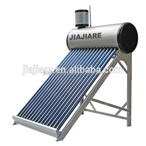 JIAJIARE new hot sale open loop circulation type and compact non pressure solar water heater with assistant tank
