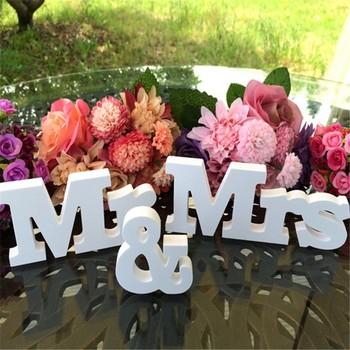 Wedding Invitation Letter Design Craft Wood Love Letter Table For
