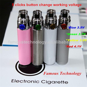 hot sale ego vv pass through battery EGO VP battery Variable Voltage and Pass Through rechargeable battery for e cigarette