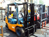 used toyota diesel forklift 2.5ton 3ton / secondhand toyota lift truck 2.5ton 3ton for sale, used toyota forklift price