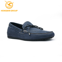 oem all brand leather men shoes fashion wholesale flat sole moccasin no lace casual shoes for man